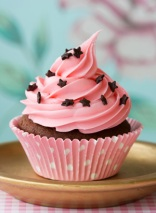 I love cupcakes... and pink.
